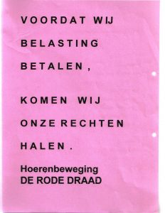 1992 of 1993 rechten halen roze