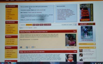 De werkplek: prostitutie via internet: werkomstandigheden: 4