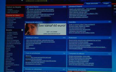 De werkplek: prostitutie via internet: persoonlijke omstandigheden van de werkers: 3