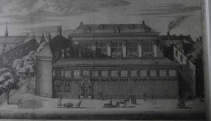 Het Spinhuis in de jaren zestig van de zeventiende eeuw.
