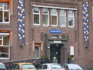 Het gebouw van Humanitas in Rotterdam