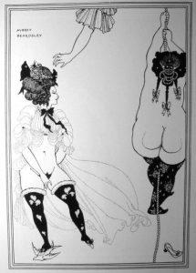 Two Athenian women in distress: Aubrey Beardsley.