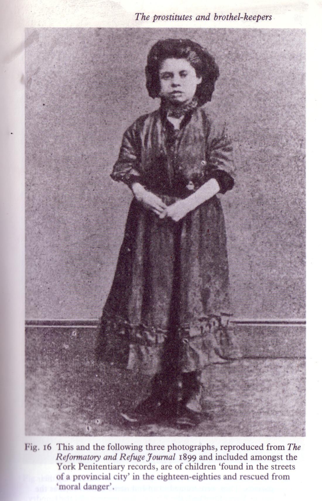 Kinderprostituee uit York, negentiende eeuw. Bron: Finnegan