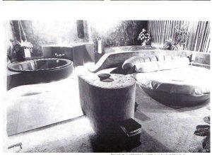 Het interieur in 1982