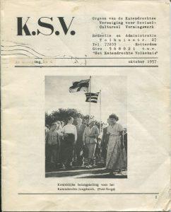 Het orgaan van de Katendrechtse Vereniging voor Sociaal Cultureel Vormingswerk
