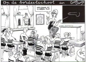 literair bordeelschool urban