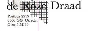 Logo Roze Draad Utrecht