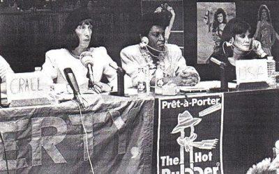De hoerencongressen in 1985 en 1986