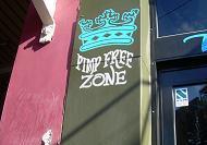 De oorspronkelijke graffiti Crown Street Sydney