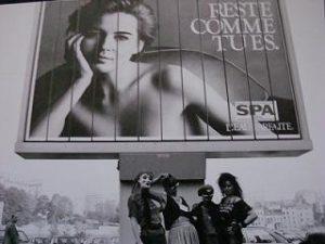Rode Draad vrouwen in Brussel. 1986. Het Tweede Hoerencongres.