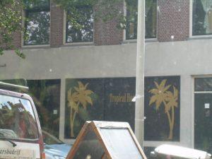 Het bedrijf aan de Herenstraat heet nu Tropical Heat