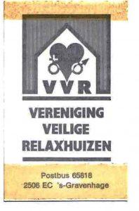 Visitekaartje VVR