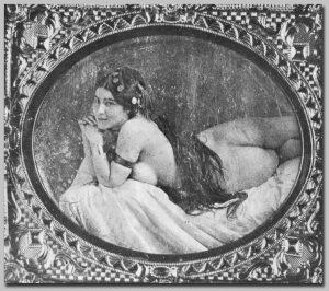 A daguerrotype